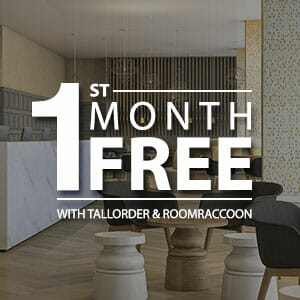 First month free image