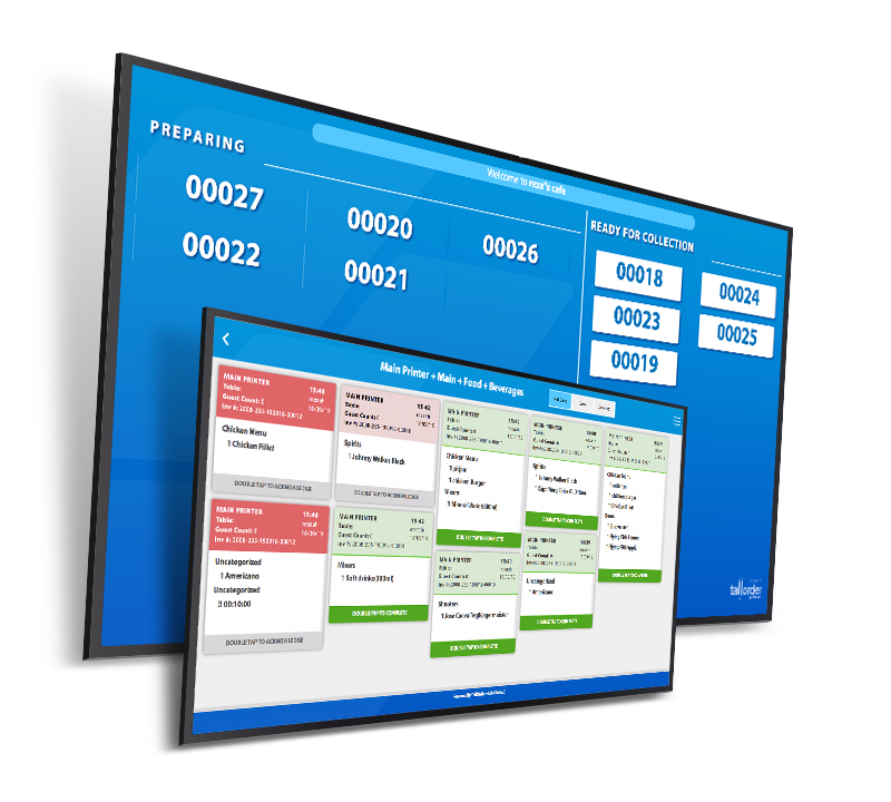 SlipApp, TallOrder's order display feature