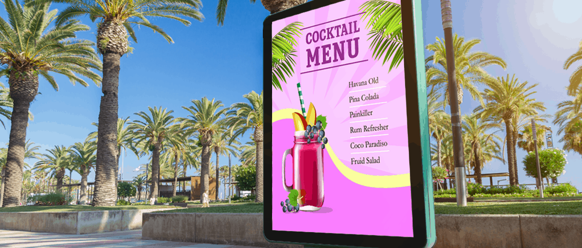 Screen-with-cocktail-menu-summer